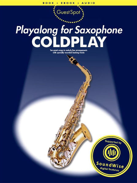 Wise Publications Playalong Saxophone Coldplay