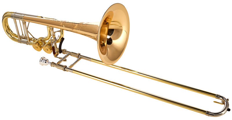 "S.E. Shires BII 7 GM 10"" Bass Trombone"