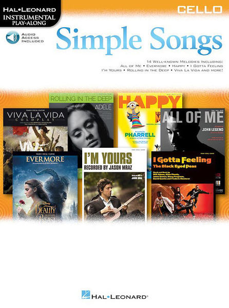 Hal Leonard Simple Songs: Cello