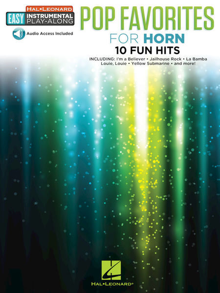 Hal Leonard Pop Favorites Horn