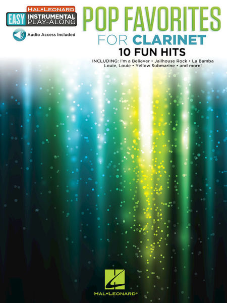 Hal Leonard Easy Pop Favorites Clarinet