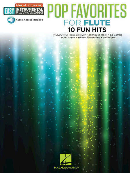 Hal Leonard Pop Favorites Flute
