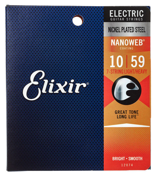 Elixir Nanoweb 12074 Light/Heavy 7