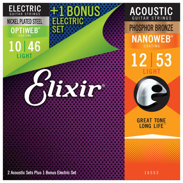 Acoustic/Electric Multi Pack Elixir