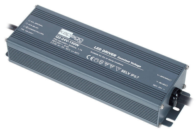KapegoLED Power Supply Q2-24V-150W