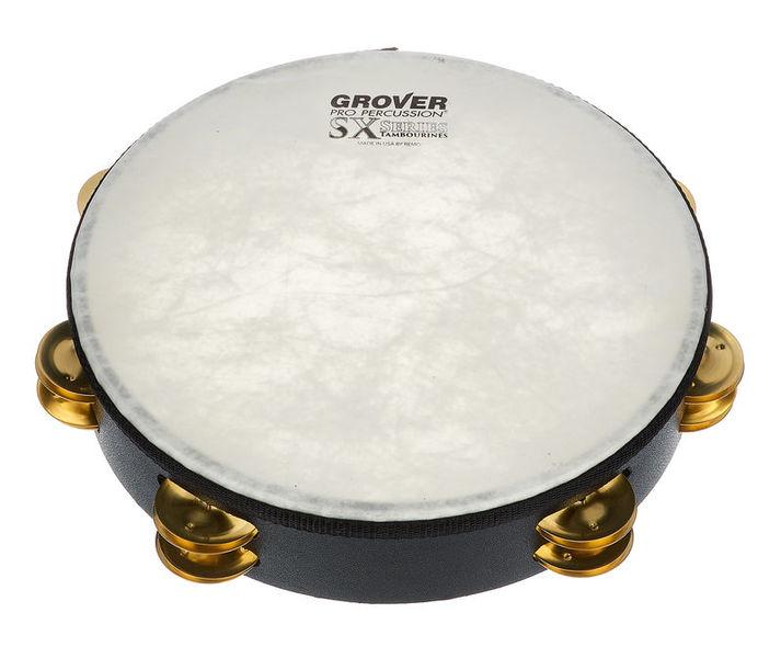 Grover Pro Percussion Tambourine SX-BR