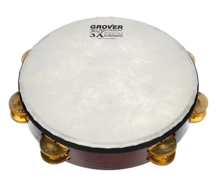 Grover Pro Percussion Tambourine SXP-BR