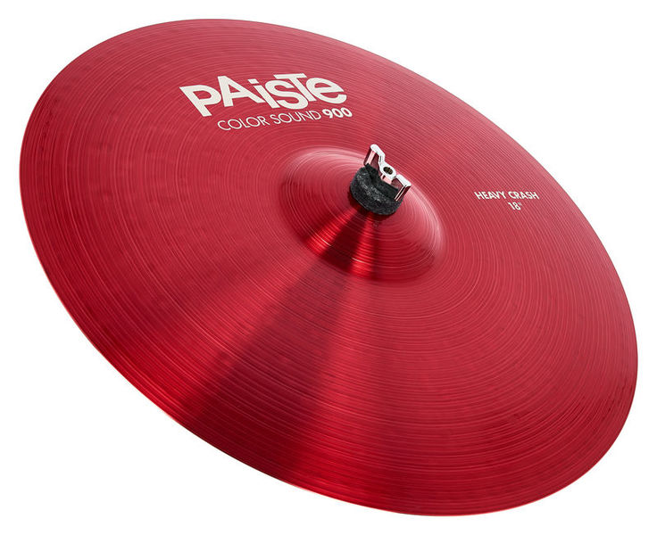 "Paiste 18"" 900 Color Heavy Crash RED"