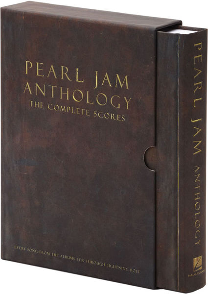 Hal Leonard Pearl Jam Anthology Scores