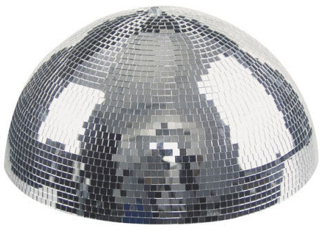Showtec Half Mirror Ball 30cm