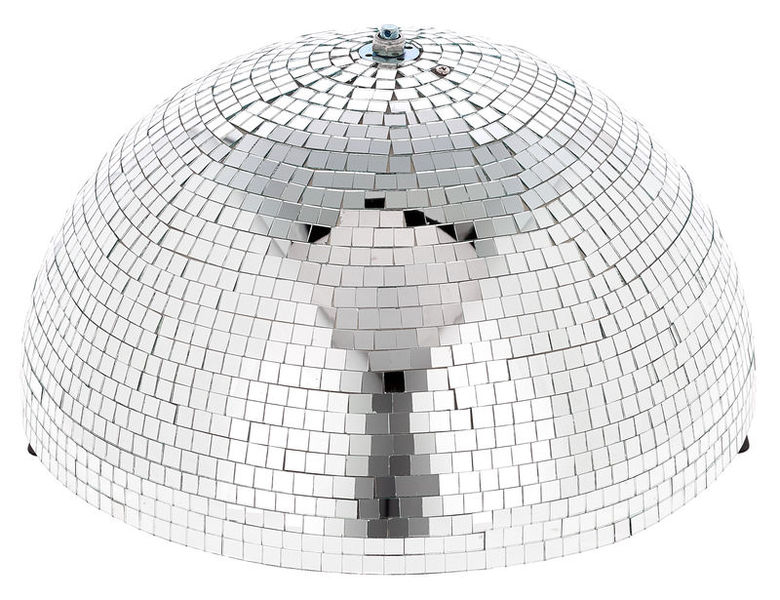 Showtec Half Mirror Ball 40cm