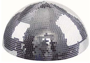 Showtec Half Mirror Ball 50cm