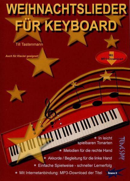 Tunesday Records Weihnachtslieder für Keyboard