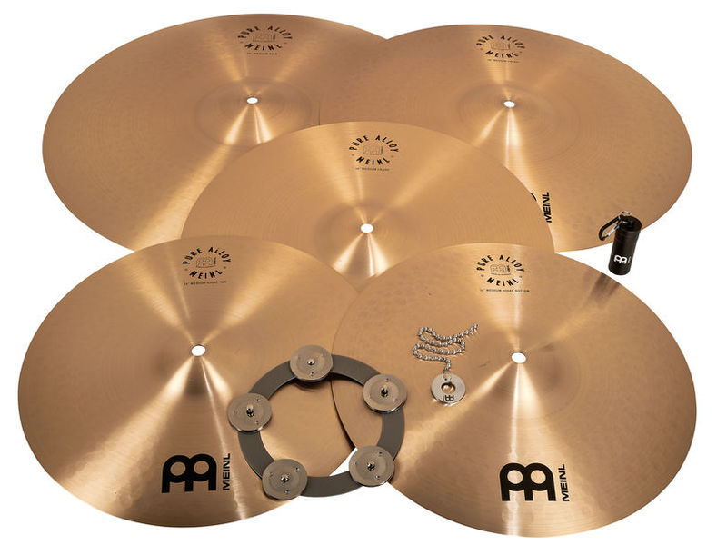 Meinl Pure Alloy Cymbal Set Small