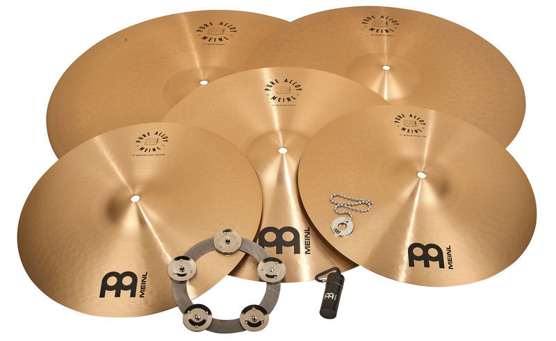 Meinl Pure Alloy Cymbal Set Big