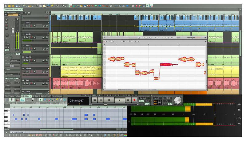 Magix Samplitude Pro X3 Suite Crossg