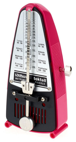 Wittner Metronome Piccolo 830361 Pink
