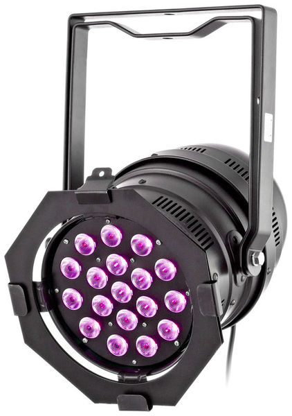 LED Par 64 CX-6 HEX 18x12W B Stairville