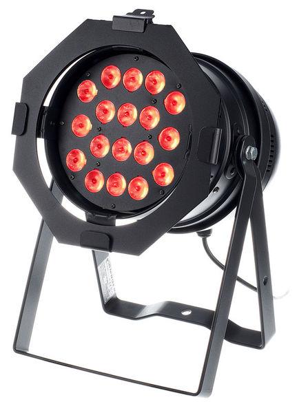 LED Par 64 CX-6 HEX 18x12W B Stairville