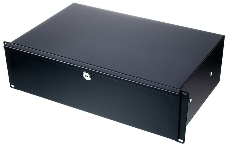 "Flyht Pro Rack Drawer 19"" 3U 28 cm lock"