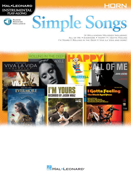Hal Leonard Simple Songs Horn