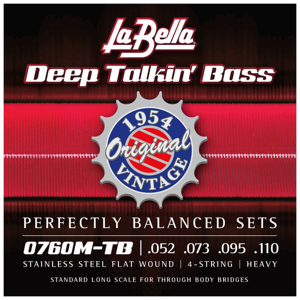 La Bella 0760M-TB Deep Talkin Bass