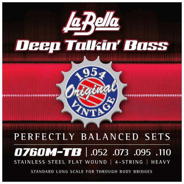 La Bella 0760M-TB Deep Talkin Bass
