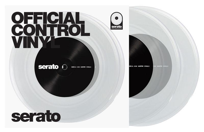 """Serato 7"""" Vinyl clear"""