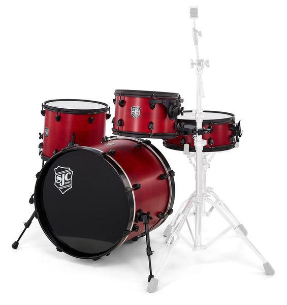 SJC Drums Pathfinder 4-piece shell set
