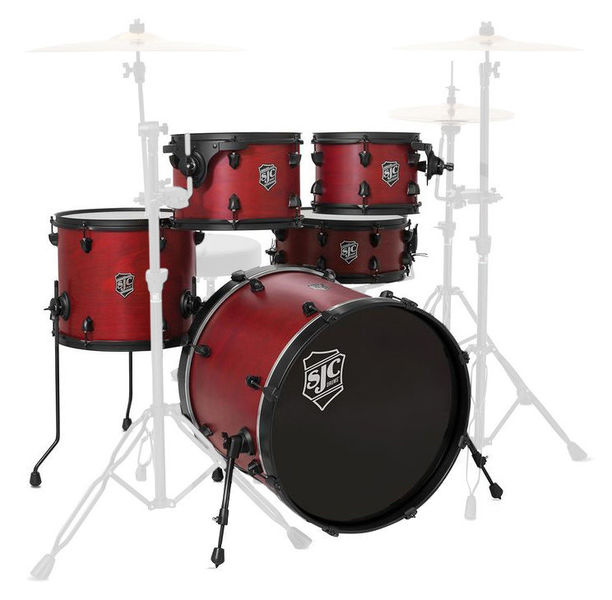 Pathfinder 5-piece shell set SJC Drums