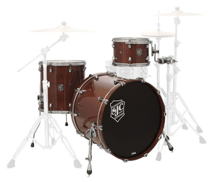 SJC Drums Paramount 3-piece shell set