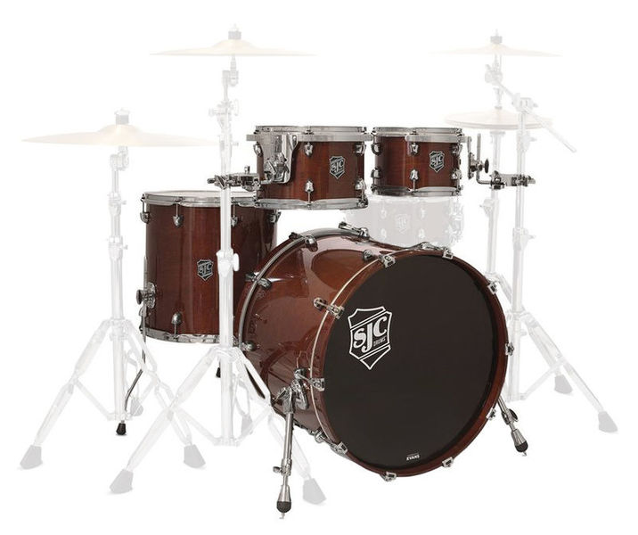 Paramount 5-piece shell set SJC Drums