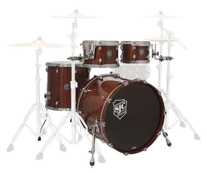 SJC Drums Paramount 5-piece shell set