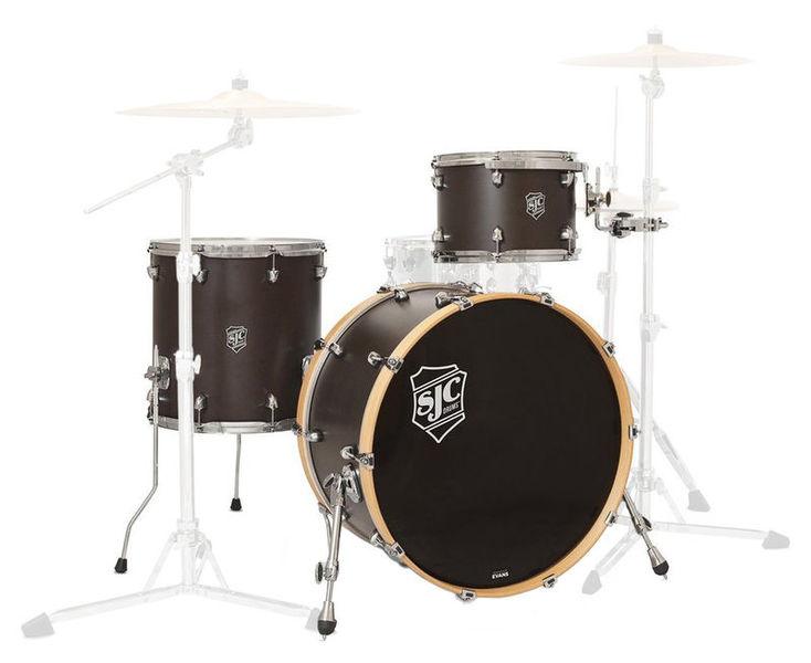"Navigator 3-pc 24"" shell set SJC Drums"