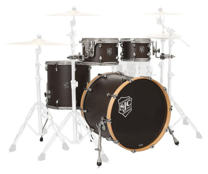 SJC Drums Navigator 4-piece shell set