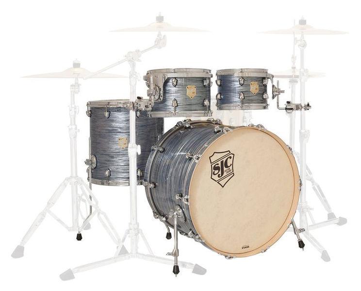 SJC Drums Providence 4-piece shell set