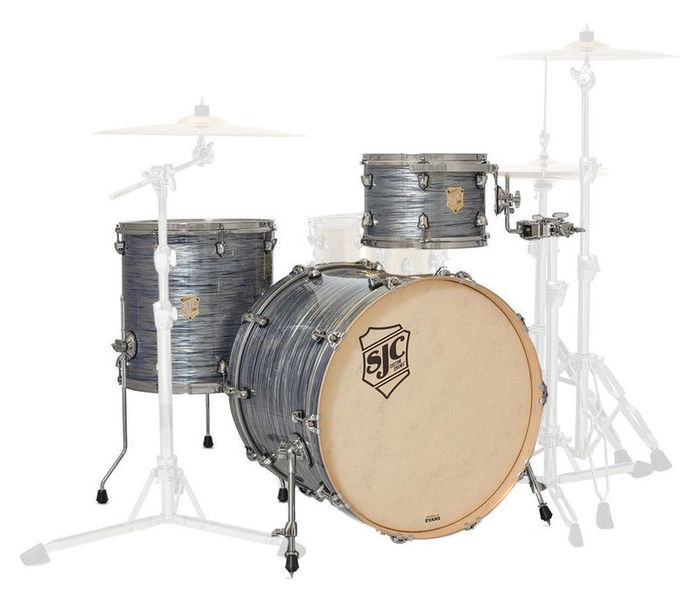 Providence 3-piece shell set SJC Drums