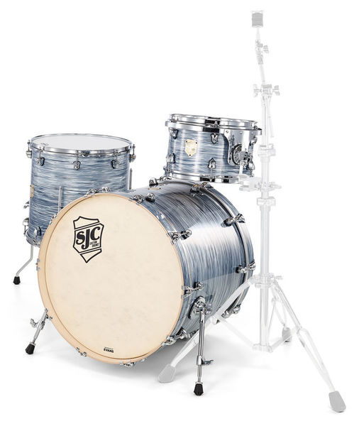 SJC Drums Providence 3-piece shell set