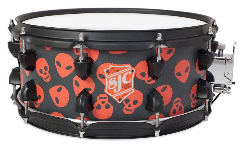 "14""x06"" Josh Dun Spooky Snare SJC Drums"
