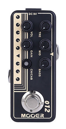 Mooer Micro PreAmp 012 US Gold 100