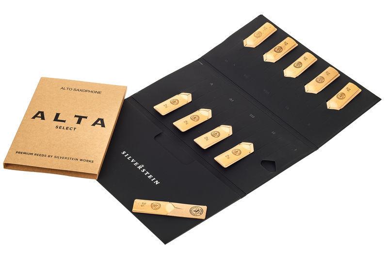 Silverstein ALTA Alto Reeds (10 piece) 2,5