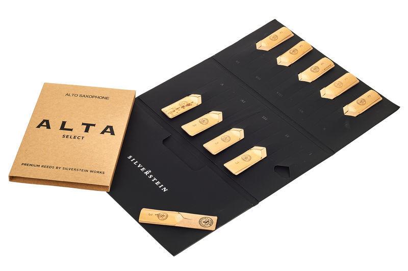 Silverstein ALTA Alto Reeds (10 piece) 3