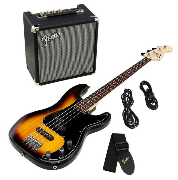 Fender SQ Affinity PJ Bass Pack BSB18