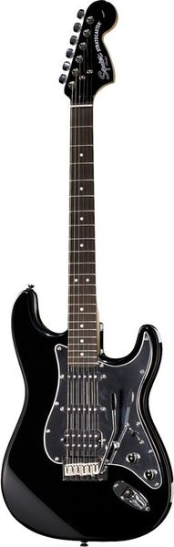 SQ FatStrat Black & Chrome 18 Fender