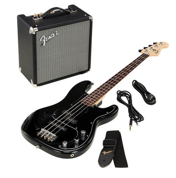 SQ Affinity PJ Bass Pack BK 18 Fender