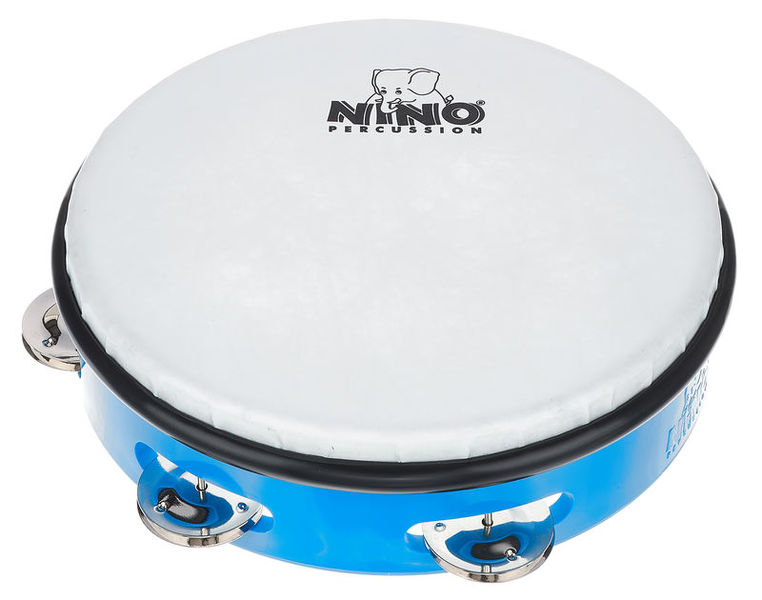 "Nino 8"" ABS Tamburine Blue"