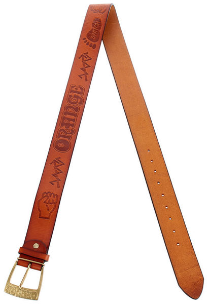 Orange Belt Brown with Logo