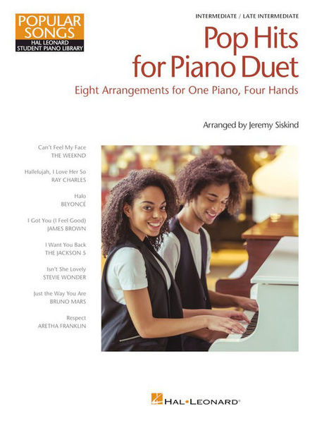 Hal Leonard Pop Hits for Piano Duet