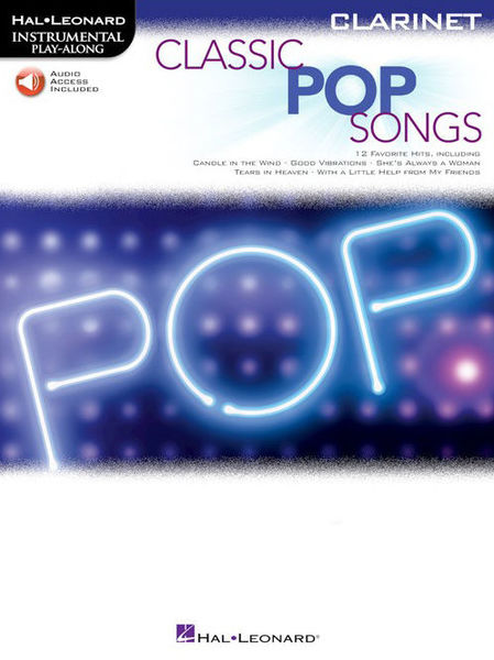 Hal Leonard Classic Pop Songs Clarinet