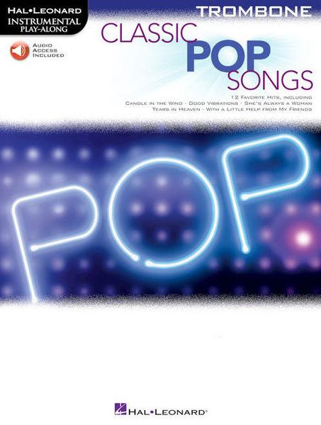 Hal Leonard Classic Pop Songs Trombone